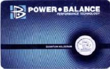Power Balance Card