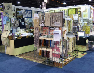 Rust Tex The Rust Tex Booth At International Quilt Festival Chicago