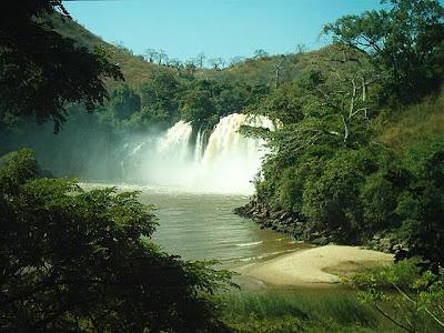 Resultado de imagem para Turismo:Rio Kwanza - angola