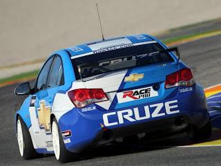 2009 Chevrolet Cruze WTCC Rear View