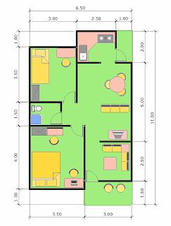 denah rumah minimalis on Kamang_layo: Denah Rumah Minimalis