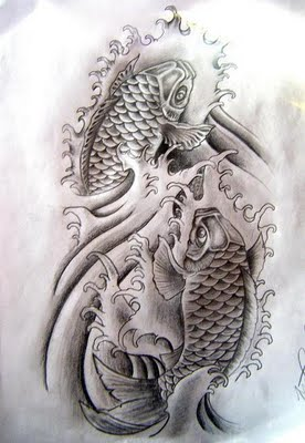 tattoo ikan