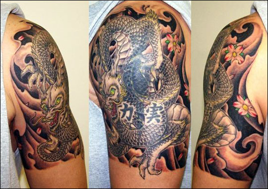 TATTOO RUMAH PANJAI: tattoo naga