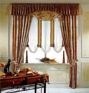 Cortinas para el hogar cortinas elegantes y f ciles de for Cortinas blancas para sala