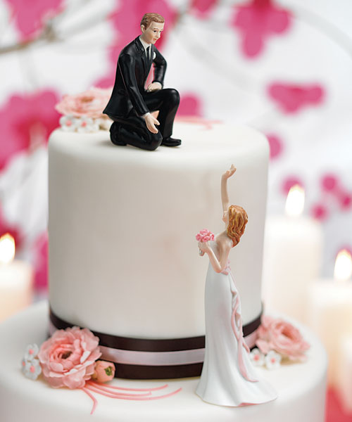 ideas novedosas para decorar tortas de boda
