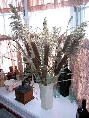 Decoracion De Rincones Arreglos Con Flores Y Plantas Secas - Plantas-secas-decoracion