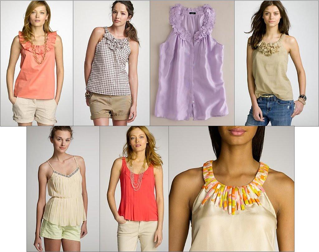 Modelos de blusas actuales 2013 - Imagui