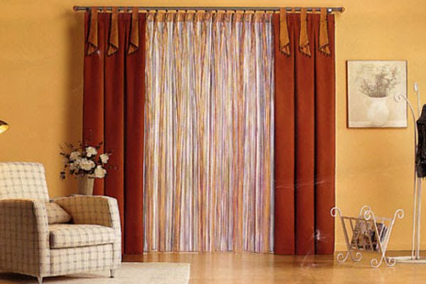 Como realizar cortinas imagui for Como hacer cortinas de salon