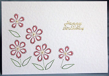 CARD EMBROIDERY FREE PATTERN PRICKING « EMBROIDERY & ORIGAMI