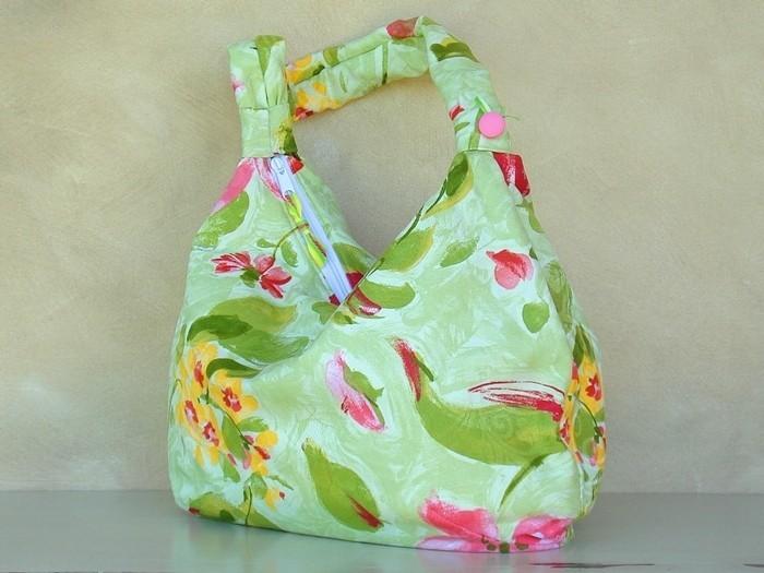 Como hacer bolsos y carteras artesanales imagui - Como hacer puff artesanales ...