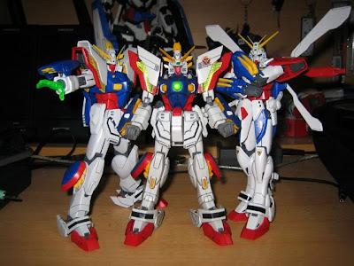 Gundam Model Kits HG+Shining+Gundam,+MG+Shining+Gundam+&+God+Gundam