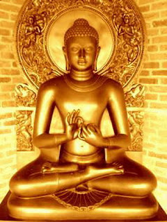 The Buddha after his awakening - teaching the Dharma