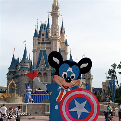 Disney Etc Disney Marvel Mash Ups