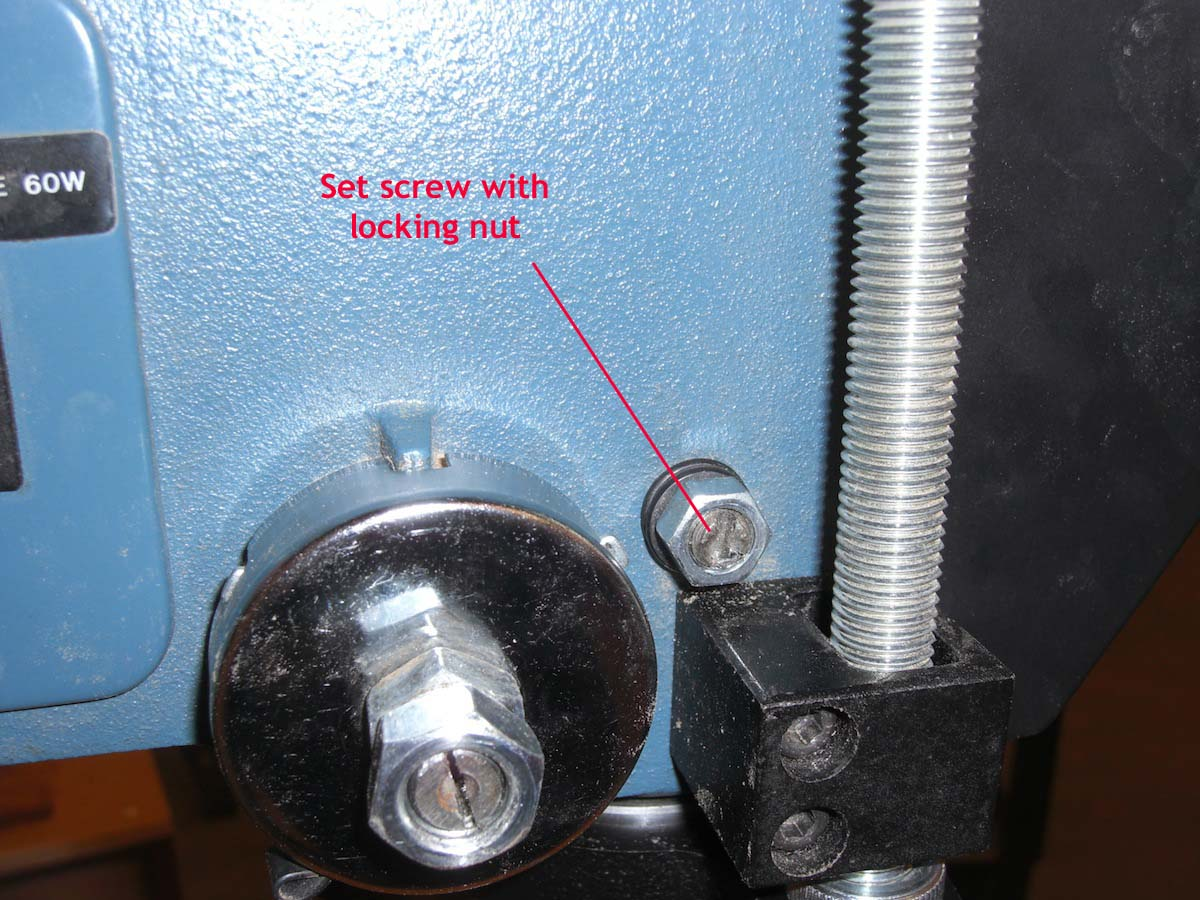 how to fix spindle wobble on drill press