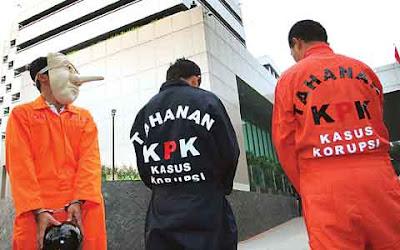 bahaya korupsi di Indonesia