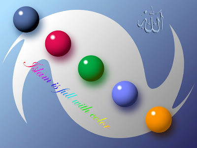 Islam full with color