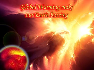 Solar Blast make earth burning
