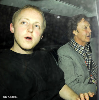 paul Sir Paul McCartney Out With Kids