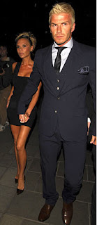 beck1 Spice Girls Photos at David Beckhams 32rd Birthday