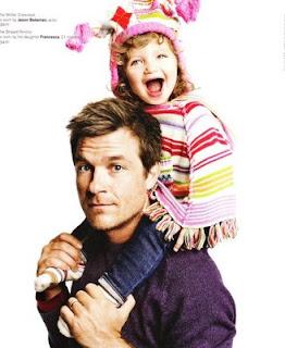 jason Cute Photo of Jason Bateman and his daughter Francesca