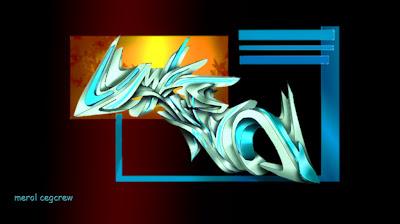 graffiti alphabet, alphabet graffiti, 3d graffiti