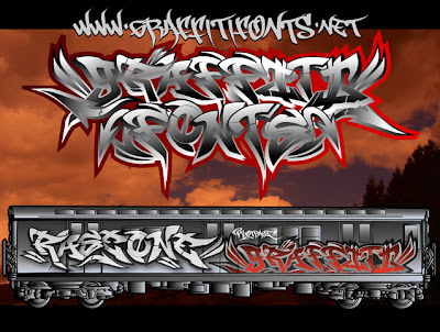 free graffiti fonts alphabet. Cool Alphabet Graffiti Fonts