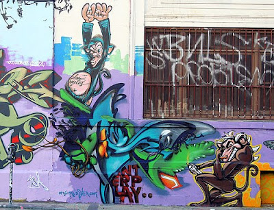 graffiti art, graffiti murals, alphabet graffiti