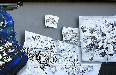 graffiti writing, graffiti letters, alphabet graffiti