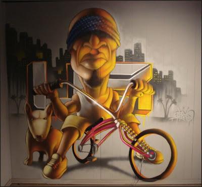 graffitti wallpaper. Shoes 3D Graffiti Wallpaper