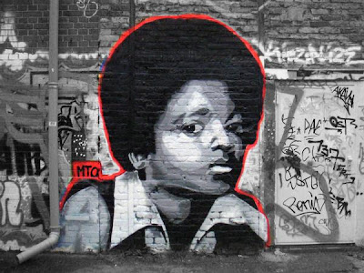 Michael Jackson_Graffiti Alphabet_Street Mural