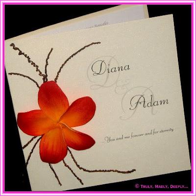 colorful wedding invitations