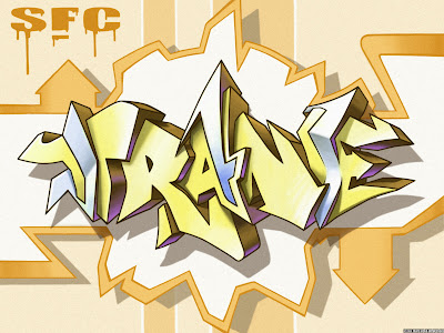 graffiti alphabet, graffiti arrow