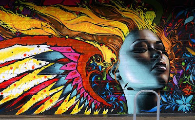graffiti art, murals graffiti
