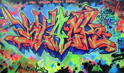 graffiti murals,alphabet graffiti