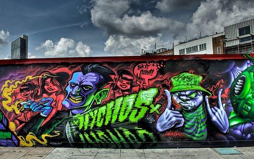graffiti art letters. Murals And Letters Graffiti