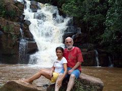 Maria e Val (Já fomos almas gêmeas, hoje somos amigos e irmãos) Rio Paranapanema, Piraju - SP