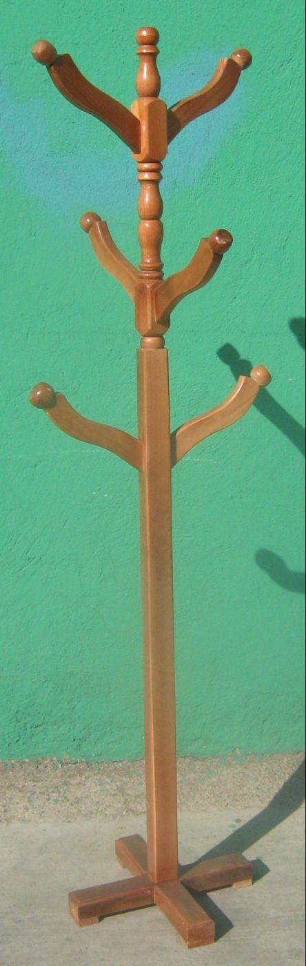 Imagenes de percheros de madera imagui for Percheros en madera