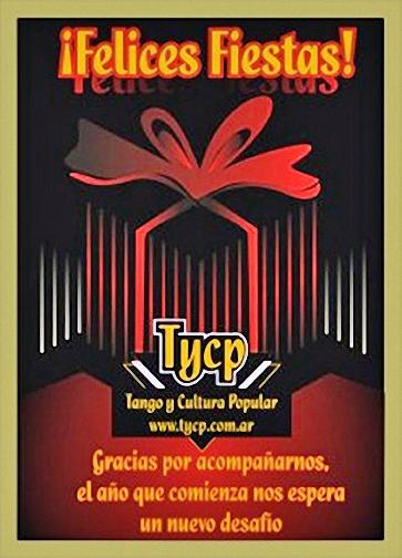 ¡Felices Fiestas te desea Tango y Cultura Popular!