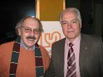 Junto a Jorge Tirabasso en LU2.