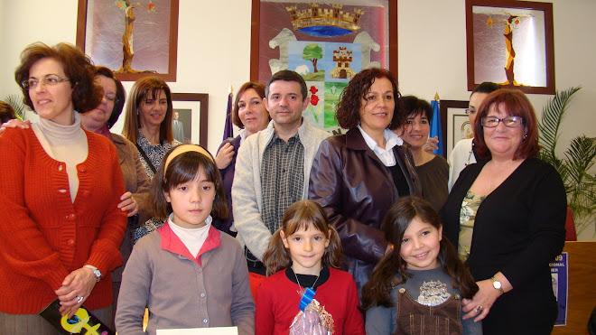 Entrega de premios del II Certamen de Dibujo Amatista