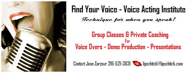 FIND YOUR VOICE! Voice Acting Institute