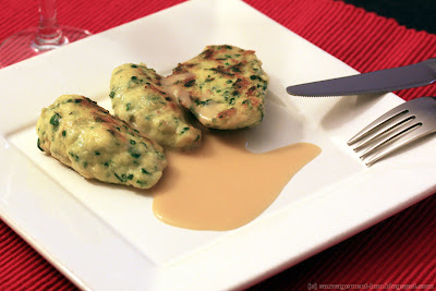 Quenelles de pommes de terre et panais au vert de blettes