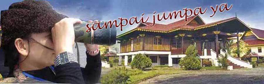 Neropong Rumahku di Kampung Halaman