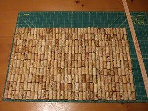 Tutorial: Alfombrilla de baño hecha de corchos