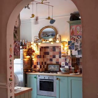 cocina, espacios pequeños, decoración, diseño