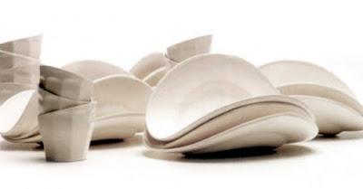 cerámica, platos de diseño