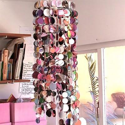 Naifandtastic decoraci n craft hecho a mano - Lamparas de pie de papel ...