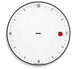 reloj de pared, diseño