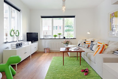 casa de 41,5 metros cuadrados, espacios pequeños, decoración de apartamentos pequeños