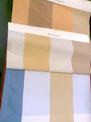muestrario de telas de seda salvaje